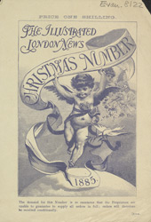 Advert for the Christmas edition of the Illustrated London News